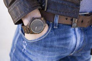 Holzarmbanduhren für Herren