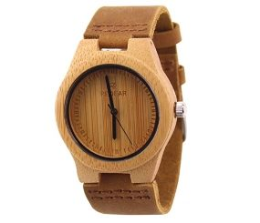 ACMEDE Bambus Damen Holz-Armbanduhr