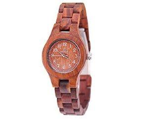 Acmede Unisex Sandelholz Armbanduhr Artikel